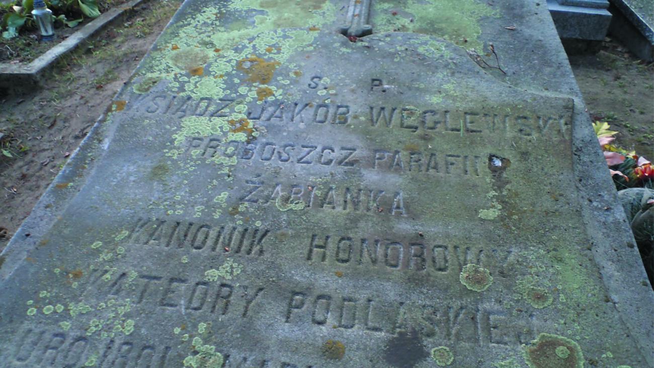 Grób ks. Jakóba Węglewskiego (3)