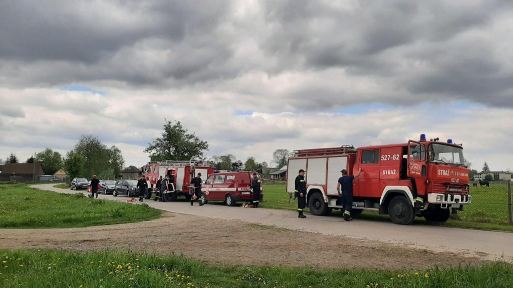 Strażacy OSP z gminy Ułęż