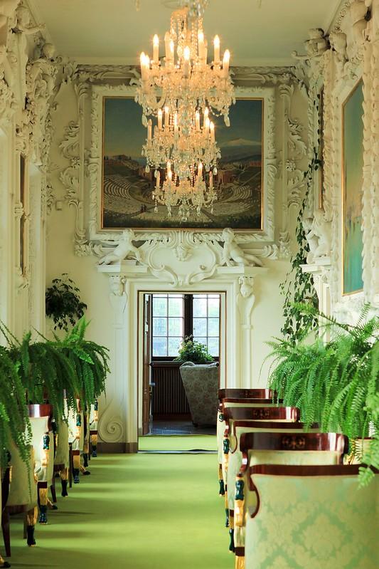 Wnętrze dawnej siedziby magnackiej w Baranowie Sandomierskim