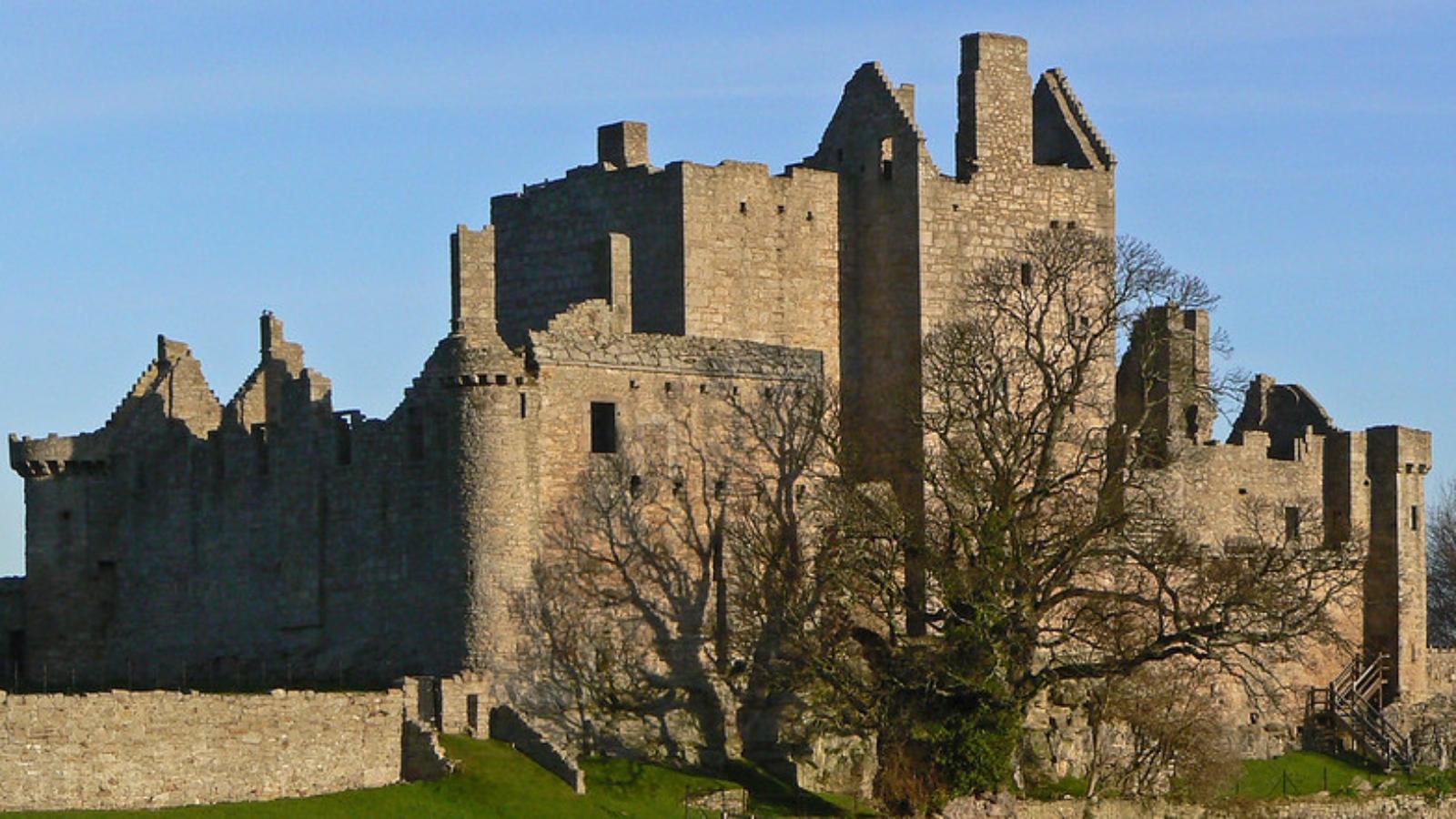 Ruiny zamku Craigmillar